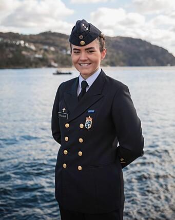 SJØFORSVARET: Hovedtillitsvalgt i Tillitsvalgtordningen i Sjøforsvaret, Gesine Stoltenberg Graham