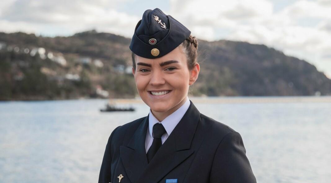 HTV: Hovedtillitsvalgt i Tillitsvalgtordningen i Sjøforsvaret, Gesine Stoltenberg Graham