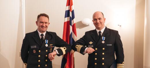 To norske styrkesjefer fikk tildelt Nato-medaljen