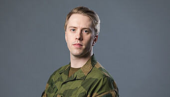 Eirik Sørlie er sjefsjurist i Hæren.