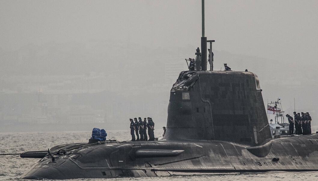 NYE FARTØY: Anskaffelse av nye ubåter er et av tiltakene Storbrittania iverksetter for å styrke sjøforsvaret