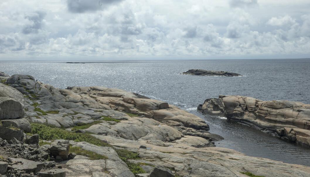 TJØME: Kaldgranaten ble funnet på øya Tjøme, utenfor Tønsberg.