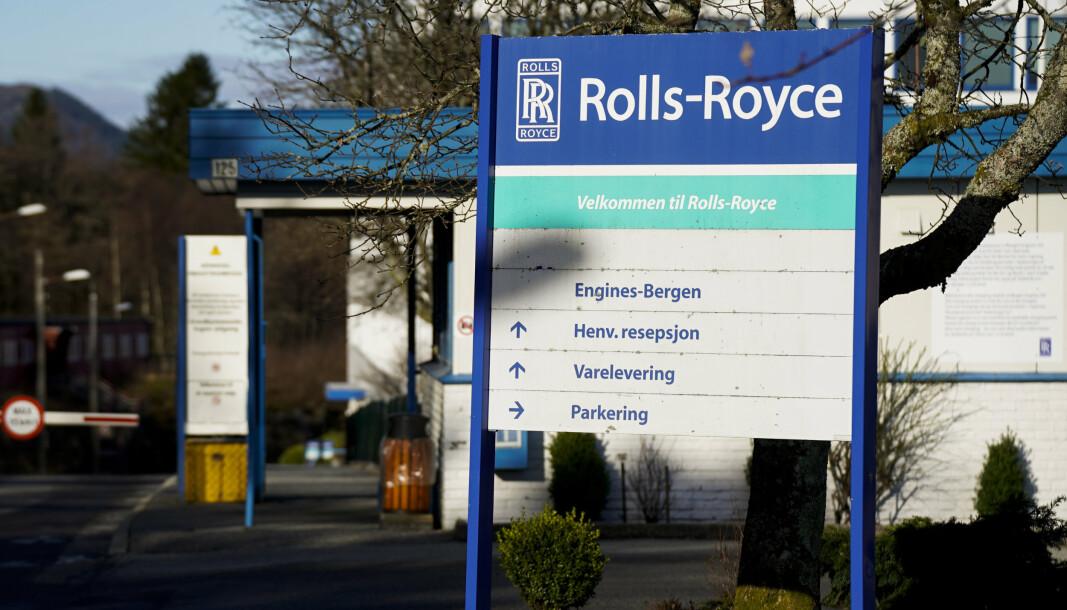 BERGEN ENGINES: Fabrikklokalene til Bergen Engines AS.