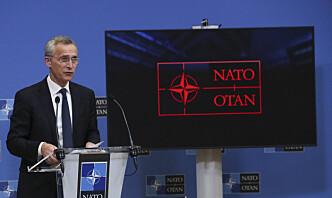 Nato-ministre avslutter møte med Russland-diskusjon