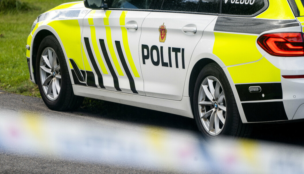SPRENGSTOFF: Agder politidistrikt tilkalte bombegruppa.