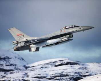 Jagerfly deltok i søket etter savnet sjark i Nordland