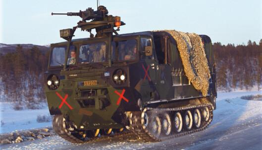 M548: De nye vognene skal erstatte upansrede M548-kjøretøy.