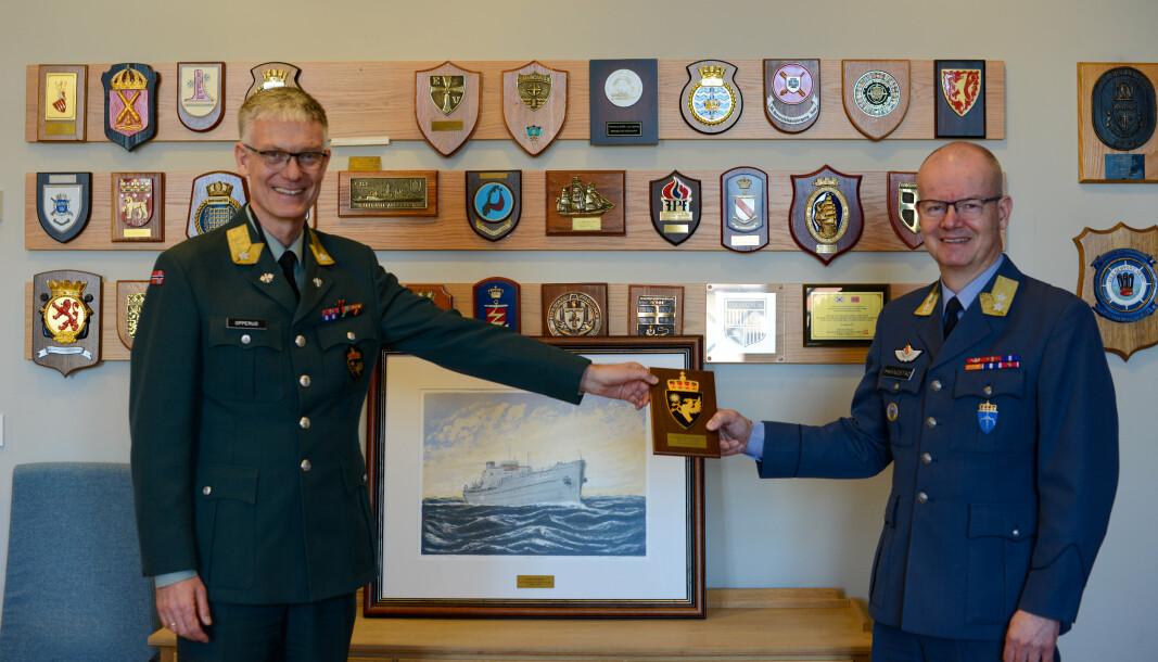 SLUTTER: Sjef for Forsvarets veterantjeneste går av med pensjon 1. april 2021.