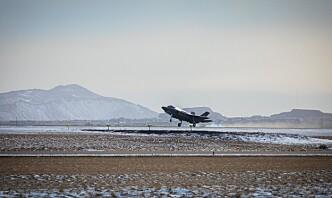 Oppdraget på Island: – F-35 systemet fungerer mer enn godt nok