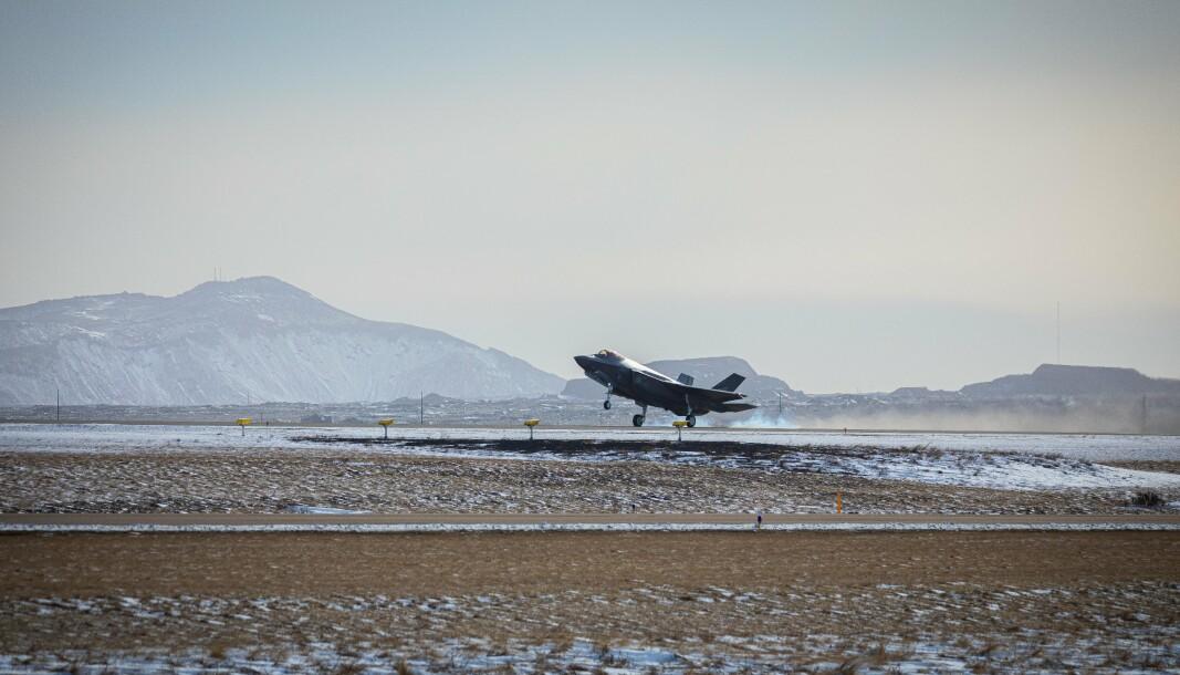 Fire norske F-35 har voktet Natos luftrom i forbindelse med oppdraget Iceland Air Policing.