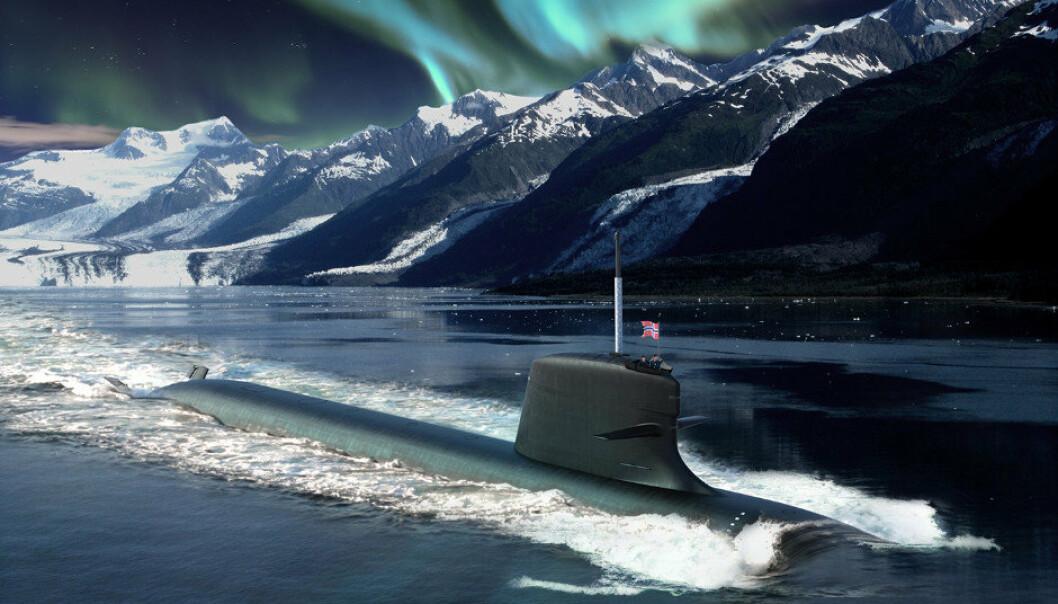 FIKK IKKE KONTRAKT: Slik presentere franske DCNS sitt forslag til nye norske ubåter basert på Scorpene-klassen.
