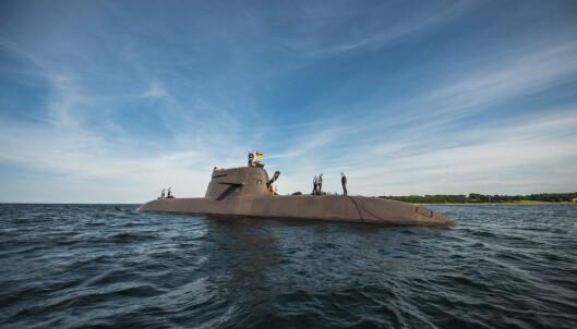 TYSK UBÅT: En ubåt i tysk tjeneste av 212A-klassen.