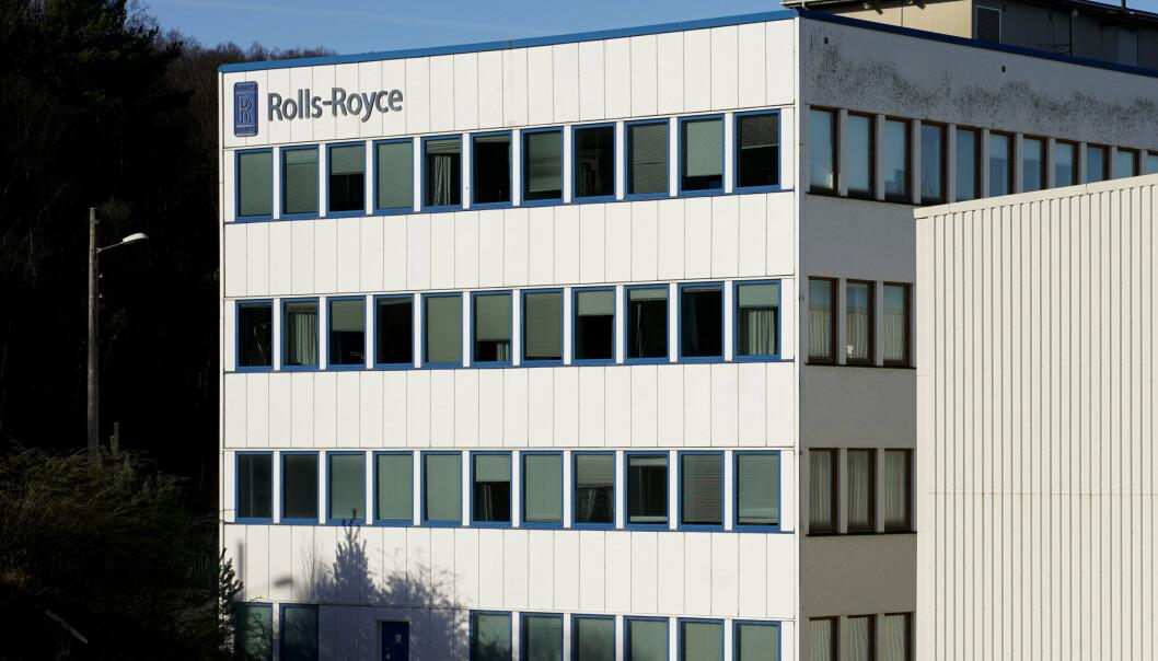 STANSER SALGET: Gjennom en kongelig resolusjon har Rolls Royce blitt pålagt å stanse salget av Bergen Engines.