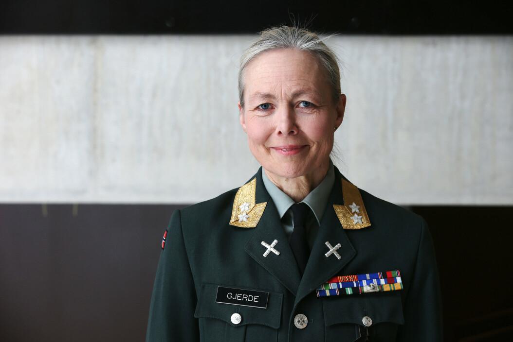 TIL KYPROS: Generalmajor Ingrid M. Gjerde.
