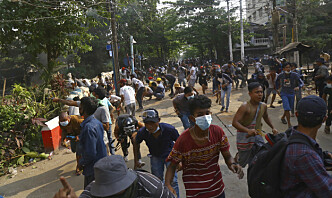 Nyhetsbyrå: Soldater åpnet ild mot begravelsesfølge i Myanmar