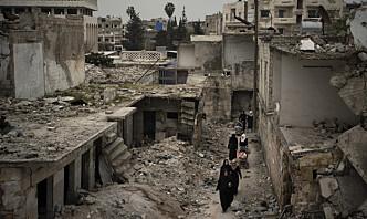 Syria melder om israelske luftangrep mot Damaskus
