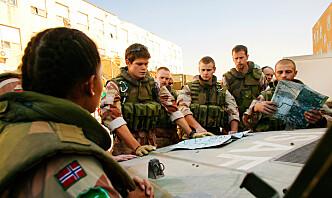 Panserbataljonens nye sjef skulle gjerne delt en feltrasjon med sin oldefar, som mente at beltegående kjøretøy aldri ville erstatte hester i Forsvaret