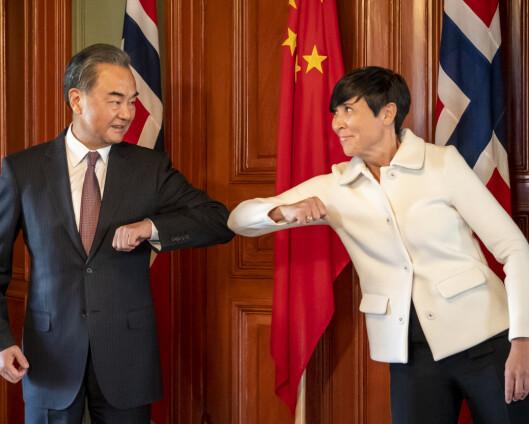 Norge følger EU – innfører sanksjoner mot Kina