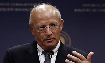 Portugals utenriksminister Augusto Santos Silva.