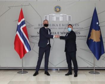 Dekorert norsk eks-soldat er ny forsvarsminister i Kosovo