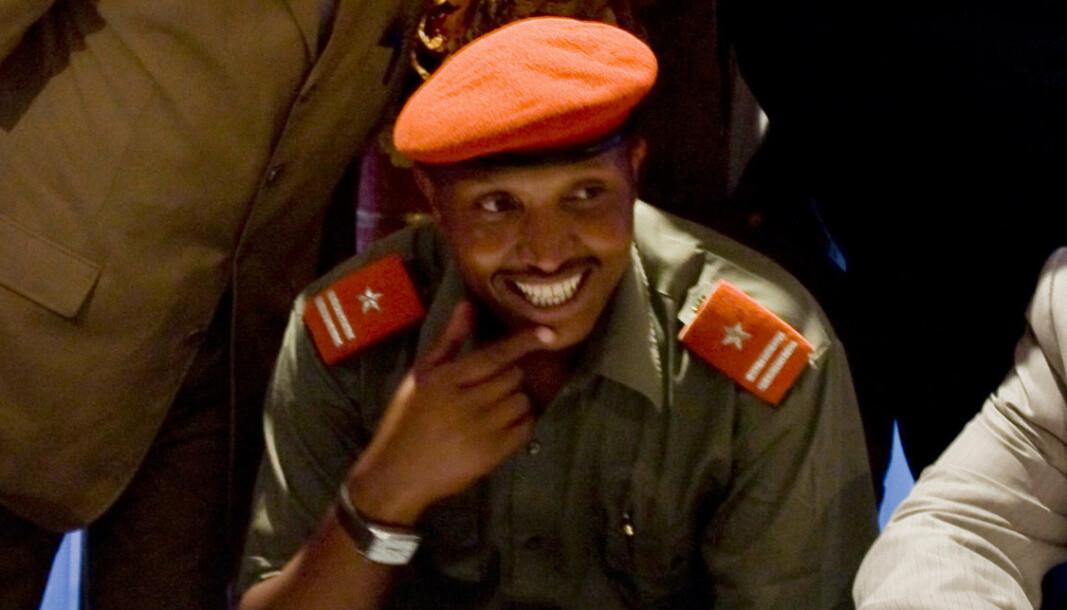 KRIGSFORBRYTER: Bosco Ntaganda fotografert i forbindelse med en pressekonferanse i Goma, øst i Kongo i 2009.