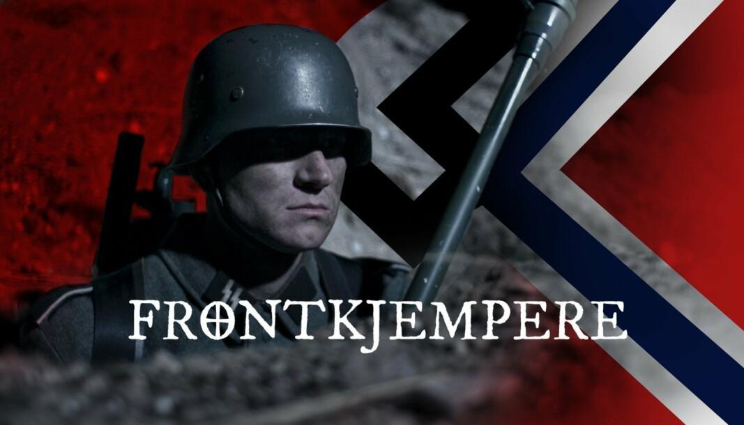 KRITISERT: Historikere har kritisert serien for å skape sympati for de norske soldatene på østfronten.