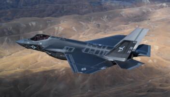 F-35: Soldatene fikk støtte fra to F-35 kampfly under angrepet.