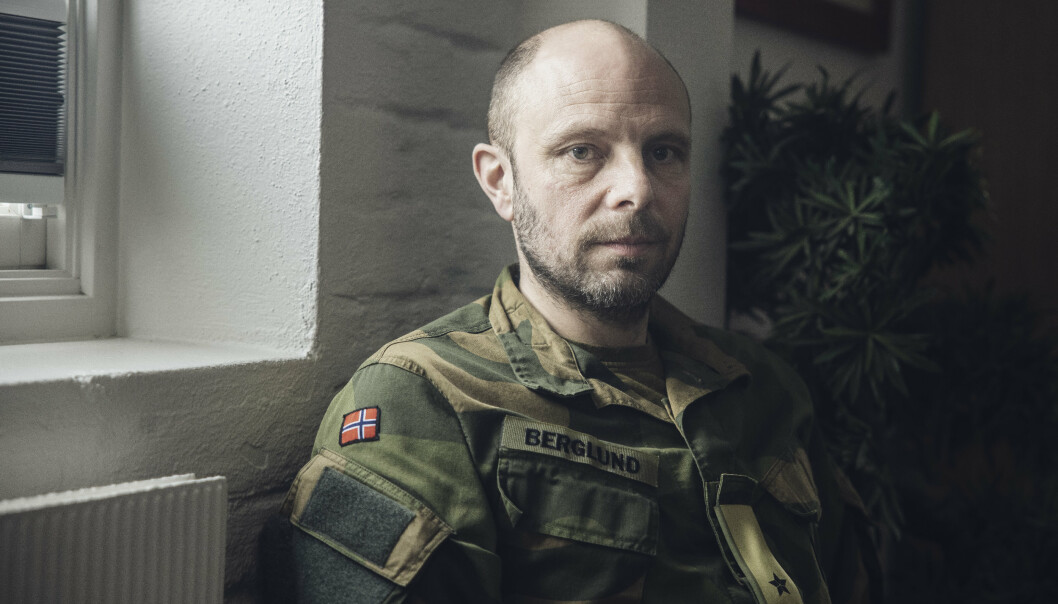 BRIGADE-ORIENTERT: Brigadesjef Pål Eirik Berglund er opptatt av å konkretisere brigadens rolle og kapasiteter.