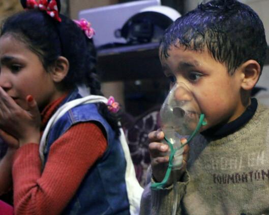 De som har begått krigsforbrytelser i Syria må ikke gå ustraffet
