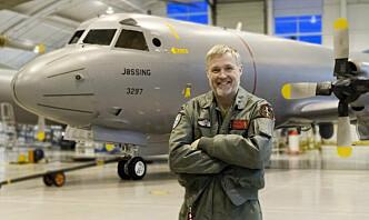Rune har over 10.000 flytimer med P-3 Orion