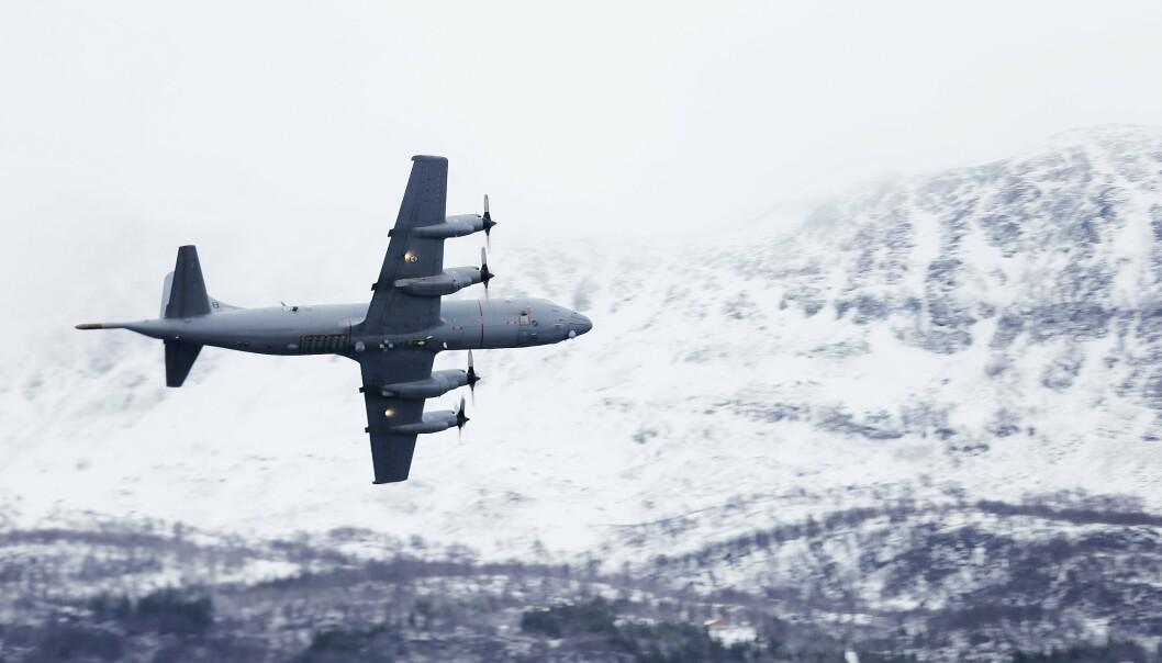 LUFTFORSVARET: Innleggsforfatter Håvard Berg-Olsen har lang fartstid om bord det maritime patruljeflyene Orion.