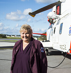 Stortingsflertallet uenig med regjeringens plan for ny helikopterbase