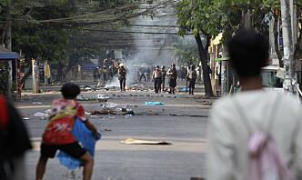 Sikkerhetsrådet fordømmer drap og vold i Myanmar