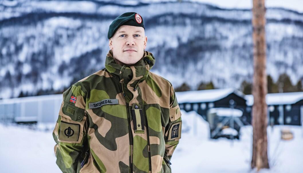 SMITTEUTBRUDD: En rekke vernepliktige hjemme på permisjon har testet positivt for korona, opplyser Hærens talsperson Eirik Skomedal.