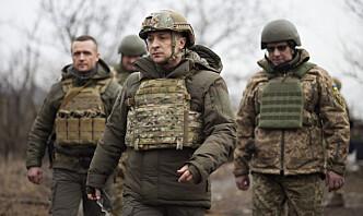Den ukrainske hæren avviser angrep på sivile