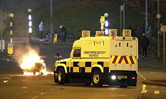 Bensinbomber mot politiet i Nord-Irland