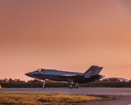 Leveranse av nye F-35 forsinket til over sommeren