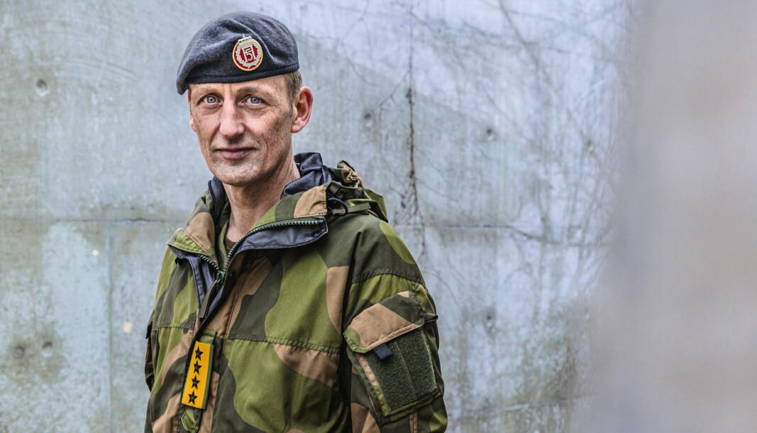 HELSE: Forsvarssjef Eirik Kristoffersen ønsker mer åpenhet om psykisk helse.