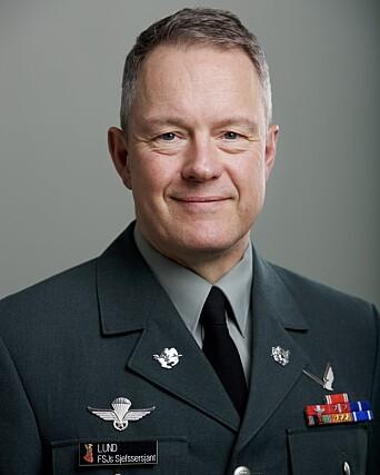 Forsvarssjefens sjefssersjant Ingar Lund.