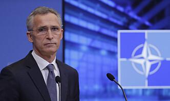 Nato bekymret for styrkeoppbygging ved Ukrainas grense