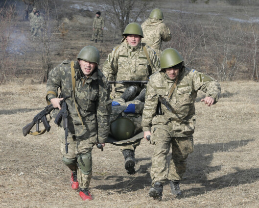 Ukraina og Storbritannia skal ha felles militærøvelse