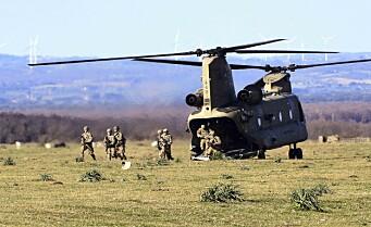 – Drakamp om forsvarsmilliarder i USA