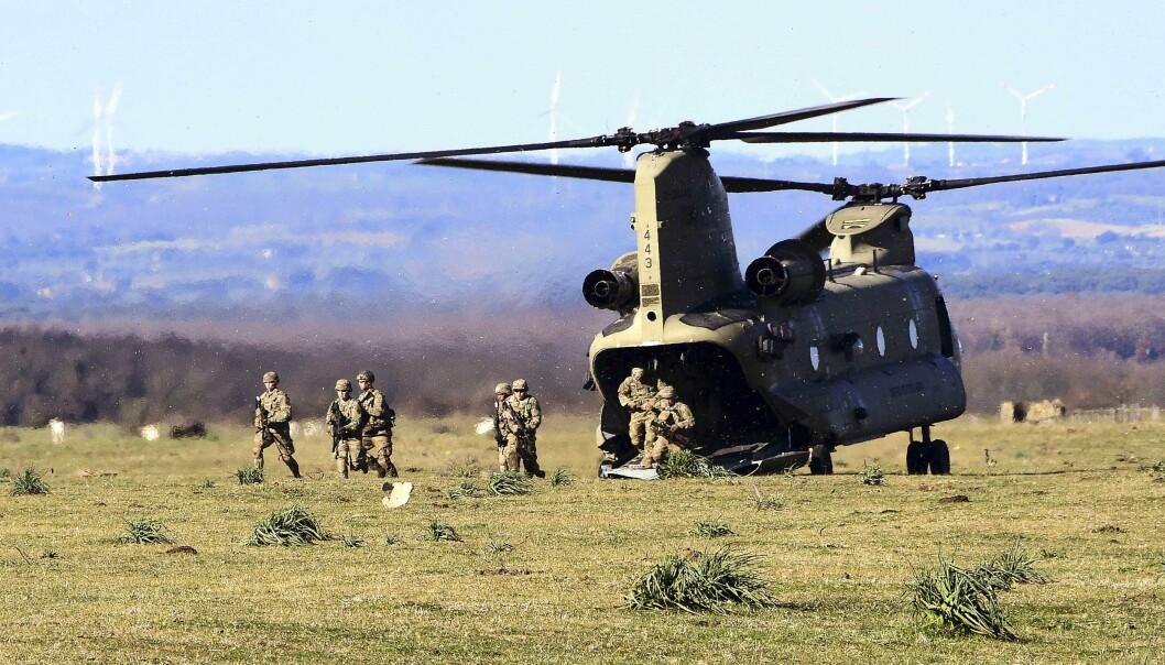 I mai vedtas USAs forsvarsbudsjett og det er hard kamp om pengene, skriver Oddmund Hammerstad. Her ser vi amerikanske soldater på øvelse i Italia 2021.