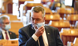 Forsvarsministeren fikk Bergen Engines på bordet i midten av januar