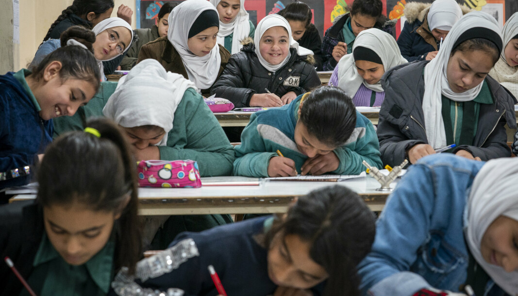 150 MILLIONER DOLLAR: Disse pengene skal gå til FNs hjelpeorganisasjon for palestinske flyktninger.