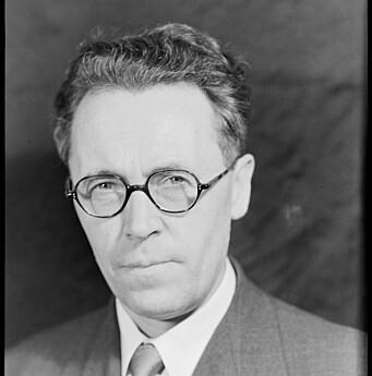 JUSTISMINISTER: Terje Wold var justisminister i Nygaardsvold-regjeringen i London under Andre verdenskrig.