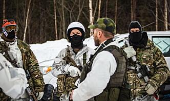 Amerikanske og svenske styrker trente sammen i øvelse Vintersol 2021