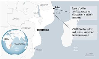 Politiet: Tolv funnet halshogget i Mosambik