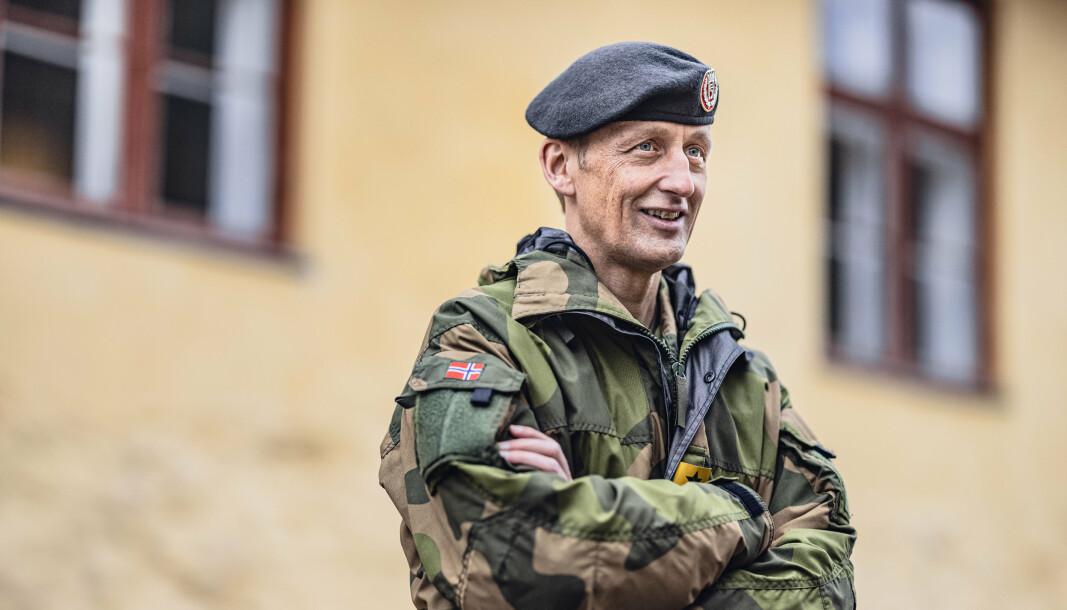 VETERAN: For meg er veteraner alle som har bidratt til å bevare Norges suverenitet og bevart fred, frihet og demokrati, skriver forsvarssjef Eirik Kristoffersen