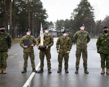 Norske soldater til topps i Nato-konkurranse